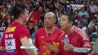 Table Tennis - Attack (MA LONG) Vs Defense (JOO SE-HYUK) LXXVXII !