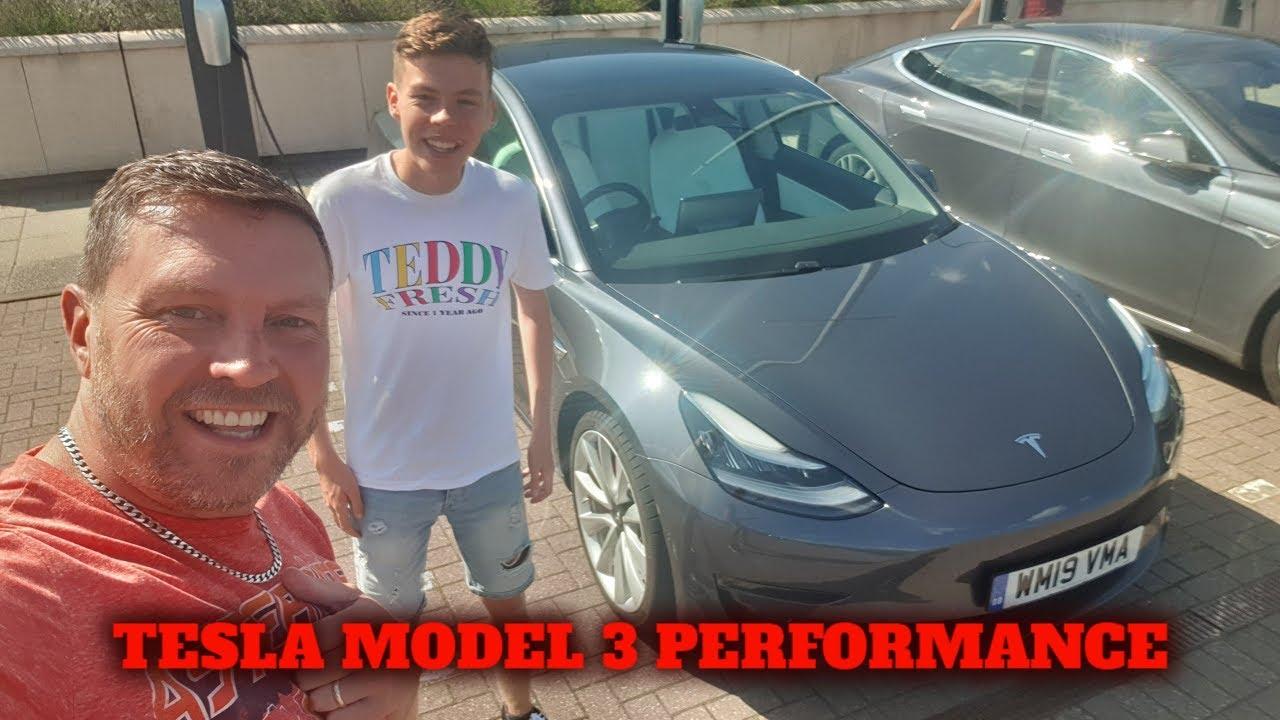 TESLA MODEL 3 PERFORMANCE 2019 UK ROAD TEST - YouTube