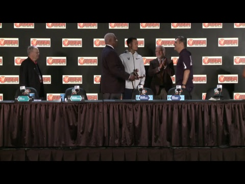 News Conference: USBWA - Oscar Robertson, Player of the Year