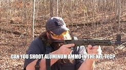 Kel-Tec Sub-2000 Gen 2:  9mm -  Can you shoot aluminum ammo?