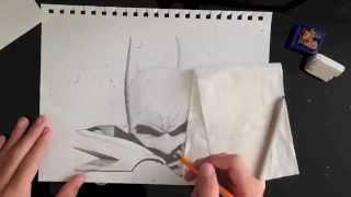 Batman Arkham City Speed Drawing