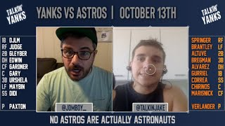 Yanks vs Astros | ALCS Game 2 | Pre-Game Show