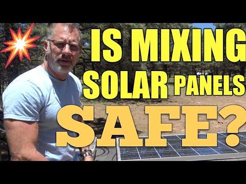 Vandweller SKOOLIE Mixing Solar Panels Install | Is it Safe?
