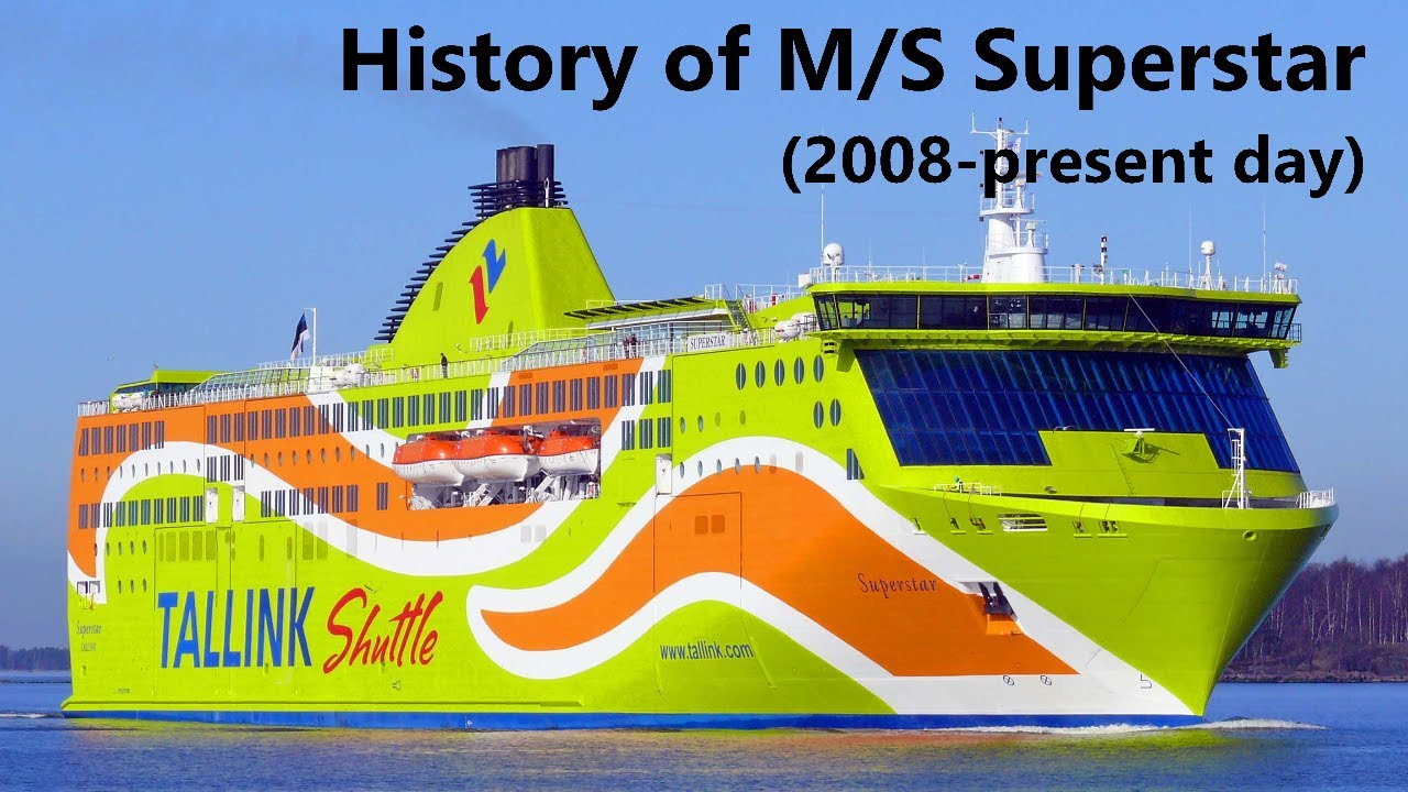 Download The History of M/S Superstar (2008-present day)