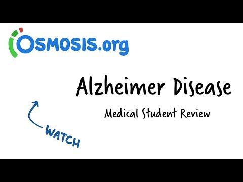 Alzheimer Disease   Osmosis