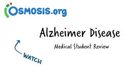 Alzheimer Disease | Osmosis