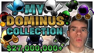 My COMPLETE Dominus Collection (27,000,000 ROBUX!!!) - Linkmon99 ROBLOX