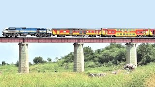 The DOUBLE DECKER Trains : Indian Railways