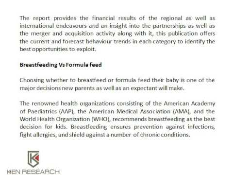 Europe Infant Formula Market Research, Baby Food Market Share - Ken Research