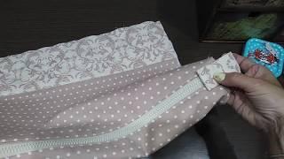 Текстильный органайзер - кофр_ как сшить за 1 час