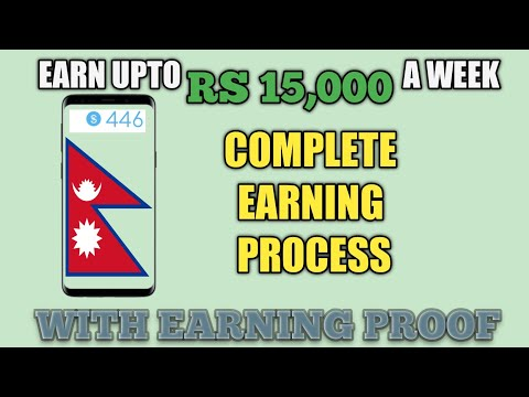 Rs15,000 A Week – Online Job In Nepal 2019 – Earning App In Nepal