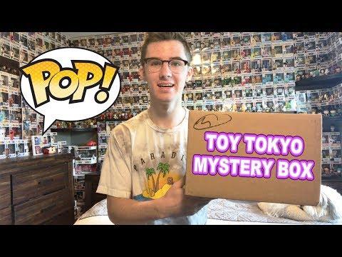 $40 Toy Tokyo Funko Pop Mystery Box!