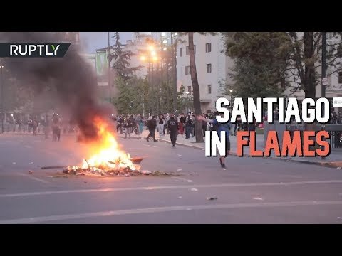 Mayhem in Chile as violent protests prompt state of emergency