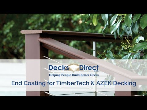 End Coating for TimberTech & AZEK Decking