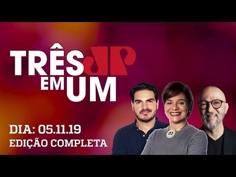 3 Em 1 - 05/11/2019 - Bolsonaro Entrega Pacote De Medidas Econômicas Ao Congresso Nacional