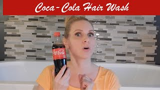 Beauty Hack: SO GOOD OR NO GOOD? Coca-Cola Hair Wash/Rinse | skip2mylou