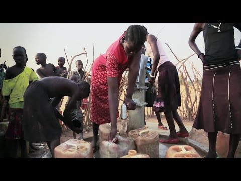 Drilling for Water in South Sudan