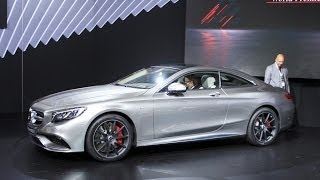 2015 Mercedes S63 AMG 4MATIC Coupe Preview: 2014 New York Auto Show