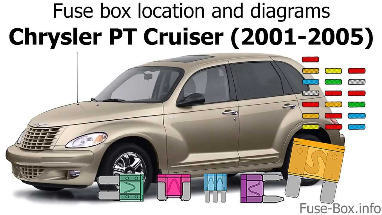 Fuse Box Location And Diagrams  Chrysler Pt Cruiser  2001