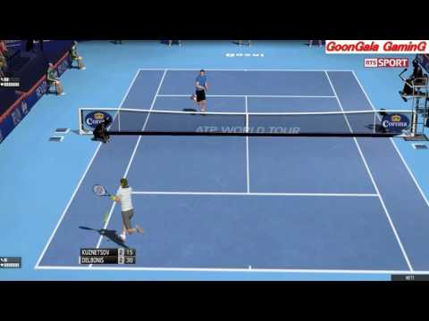 Andrey Kuznetsov - Federico Delbonis | Swiss Indoors Basel Tennis Elbow 2013 Simulation