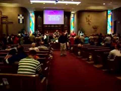 Costa Rica June 2007 Church Service