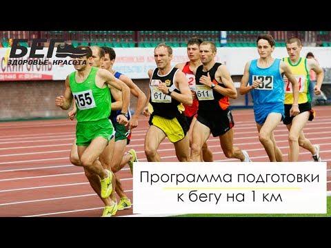 Программа подготовки к бегу на 1 км