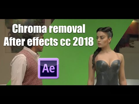 After Effects cc 2018 : Advanced Green Screen Tutorial