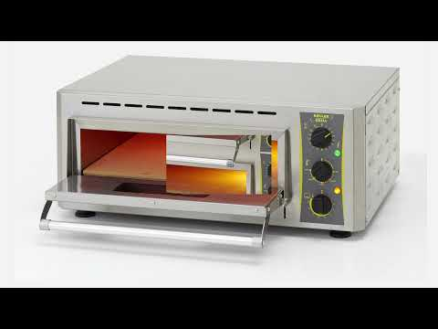 Infrared pizza oven - Cleaning - Roller Grill