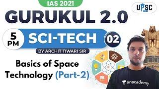 IAS 2021   Gurukul 2.0   Sci-Tech by Archit Sir   Basics of Space Technology (Part-2)