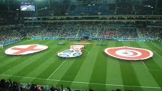 начало матча Англия - Тунис (ЧМ 2018 - Волгоград)