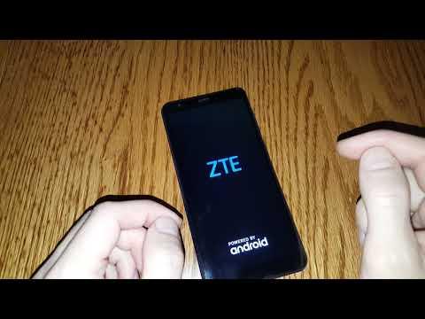 ZTE Blade A5 2019 hard reset сброс настроек графический ключ пароль зависает тормозит how to reset