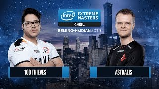 CS:GO - 100 Thieves vs. Astralis [Inferno] Map 1 - Group A - IEM Beijing-Haidian 2019