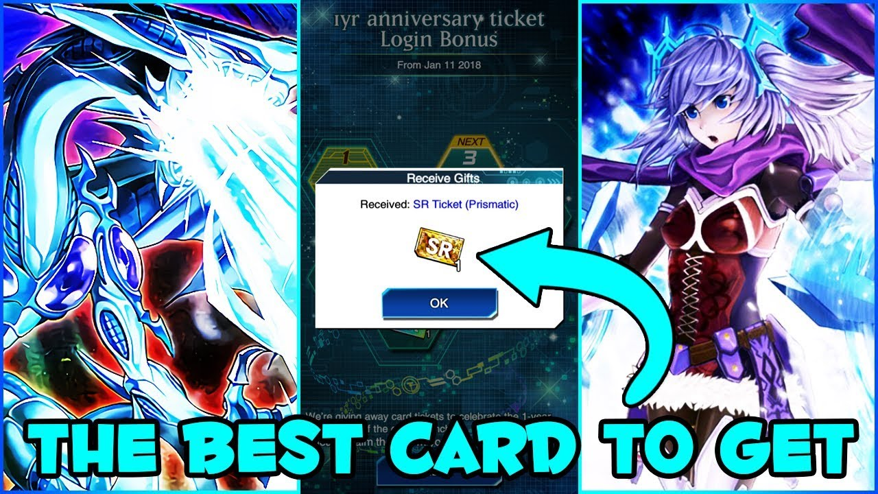 THE BEST PRISMATIC CARD TO GET WITH YOUR PRISMATIC SR TICKET! [Yu-Gi-Oh!  Duel Links]