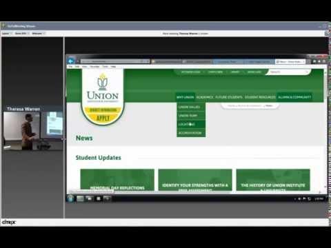 UI&U Website Introduction