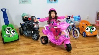 Sally's Power Wheels collection Disney Ride on Cars!