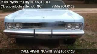 1969 Plymouth Fury III  - for sale in , NC 27603 #VNclassics