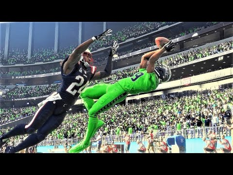 Madden 18 Super Bowl 52 Seahawks vs Patriots *All-Madden Edition* Full Game on Xbox One