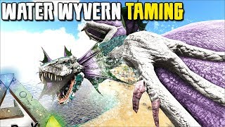 WATER WYVERN TAMING !! IT CAN SWIM UNDERWATER !!   MYTHICAL BEASTS   ARK SURVIVAL EVOLVED [EP20]