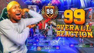 Duke Dennis hit 99 Overall on his Shot Creator Stretch Big on NBA 2K19! 99 OVERALL REACTION 2K19!