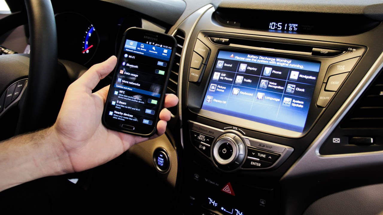 How To Pair Your Bluetooth Smart Phone To The 2014 Hyundai
