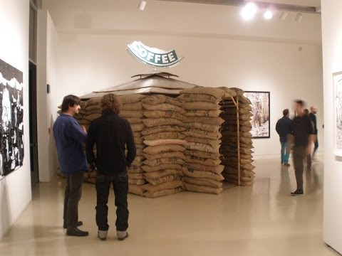 The Post-Apocalyptic Coffee House @ Torrance Art Museum -Larry and Debby Kline