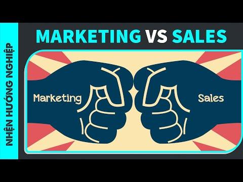 ĐỪNG NHẦM LẪN Marketing và Sales | SPIDERUM | Markus Marketing School | Hướng nghiệp