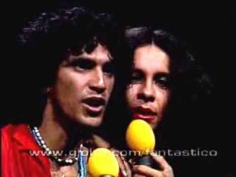 """Gal Costa E Caetano Veloso - """"Alguém Cantando"""" (Fantástico 1978) - Editado"""