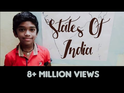 States of India Easy way to Learn