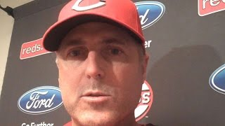 MIL@CIN: Price talks about his younger players