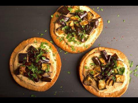 How to make an Eggplant Pita Pizza