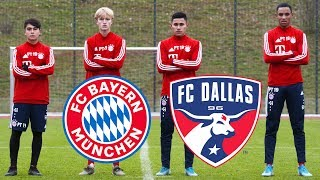 FC Bayern x FC Dallas | Chris Richards and US youngsters share their experiences
