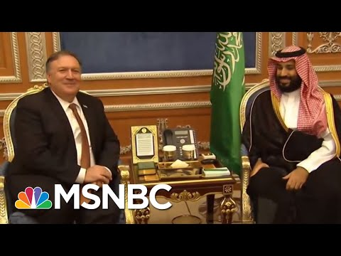Photos Of Suspect With Prince Defy Donald Trump/Saudi Rogue Killer Story | Rachel Maddow | MSNBC