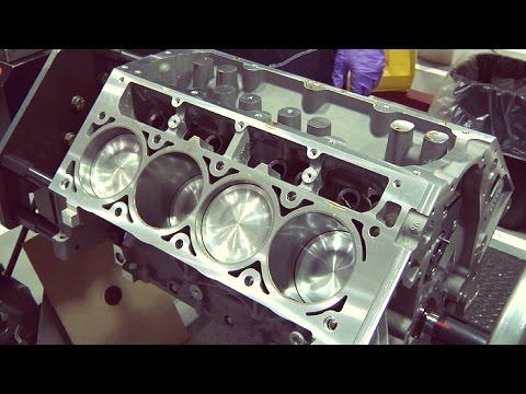 Chevrolet Corvette Engine Assembly