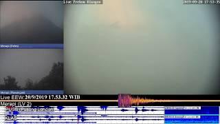 Volcano Merapi - 20/09 17:49 WIB